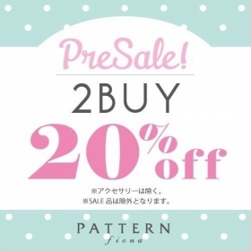 《PRE SALE》2buy20%OFF☆