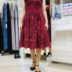Introduction of dress with spangles♡