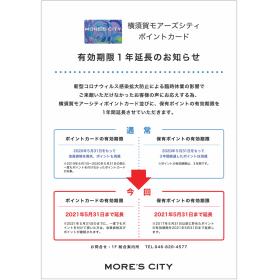 【포인트 카드】유효기간 1년 연장의 알림